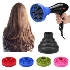 1x Silicone Blower Hairdressing Curly Hair Styling Dryer Folding Diffuser Cover