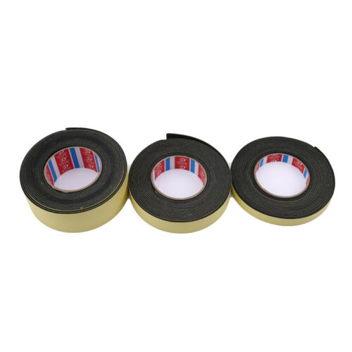 Single Sided Self Adhesive Foam Tape Sponge Strip Door Window Seal Supplies S3