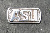 Lot Of 10 Asu Arizona State University Sun Devils Conchos Screwbacks Silver Dip