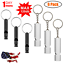 6pcs-Outdoor-Survival-Whistle-Camping-Emergency-Gear-Pet-Training-amp-Obedience-Tool thumbnail 1