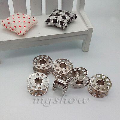 10/20/30 Metal Stainless Sewing Machine Bobbin For Brother Janome Singer