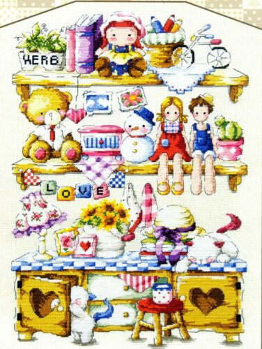 "/""Country House/"" Cross stitch pattern leaflet SODA SO-G18"