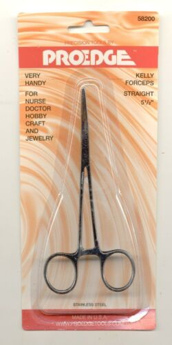 "Straight 58200 ProEdge Hemostat  5-1//2/"" tools model Pakistan Kelly Forceps"