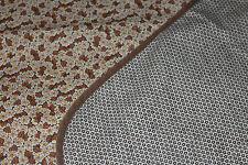 Vintage Tischdecke Wendedecke Blümchen Shabby Chic Tablecloth Stoff fabric