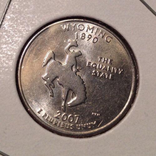 2007 P or D Wyoming 50 States Quarter Get 5th Free