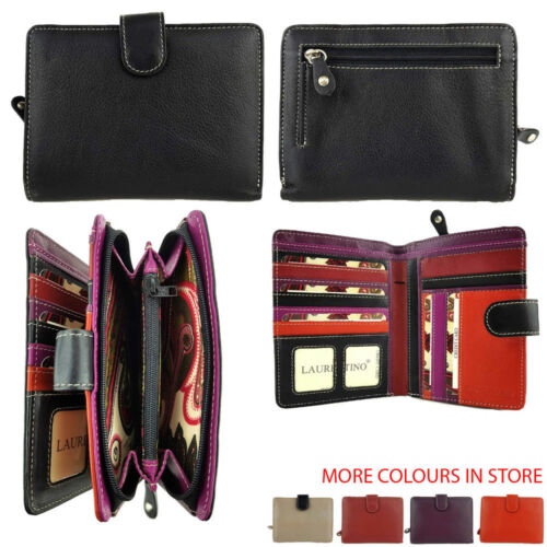 RFID PROTECTED Multi Coloured Ladies Purse