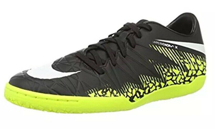 Nike Hypervenom Phelon II IC Men's Size 8.5 Soccer Indoor shoes Volt 749898-017
