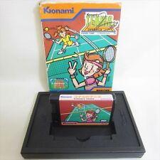 MSX KONAMIS TENNIS RC 720 Casio Import Japan Video Game No inst 0453 msx