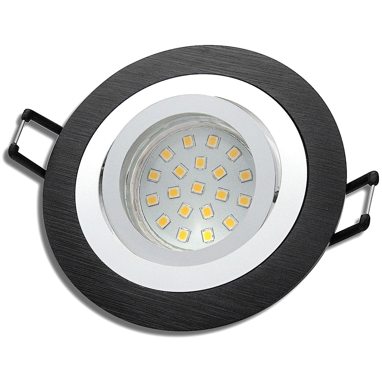 LED Lampe Einbaustrahler   Einbauspot   Wohnzimmer   Rund   220V   5W   Sparsam