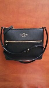 Handbag-Messenger-New-Kate-Spade-Black-CEDAR-STREET