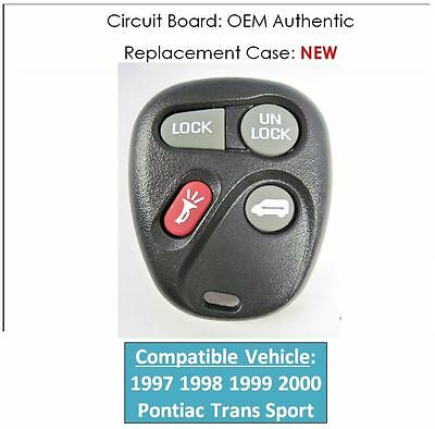 1997 1998 1999 2000 PONTIAC GRAND PRIX GT KEYLESS ENTRY REMOTE CLICKER FOB P...