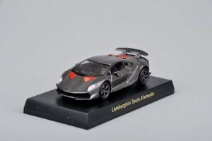 1-64-modello-pressofuso-AUTO-KYOSHO-Grigio-Lamborghini-Sesto-Elemento-Bambini-Giocattolo-con-base