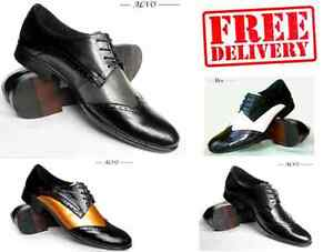 BRAND-NEW-MENS-LEATHER-BROGUE-FORMAL-LACE-UP-SHOES-WARRANTY-SIZE-6-7-8-9-10-11