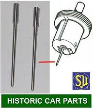 """HS2 1¼"""" SU CARB ~ Std """"AN"""" NEEDLES x 2  ~ MG Midget Mk 2 1098 1964-66 AUD136"""