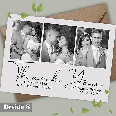 Piatto O Piegata Foto Matrimonio Ringraziamenti Prova Gratuita Molti Designs-mostra Il Titolo Originale