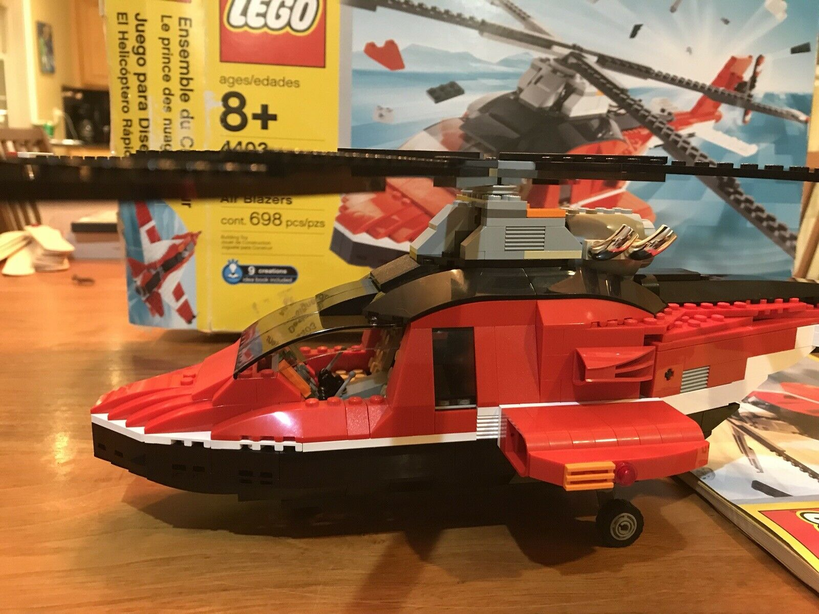 "Lego Designer Air Blazers 20"" Long Gear Operated Blades. 2003 Retired. A+ Cond"