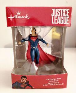 Hallmark-JUSTICE-LEAGUE-SUPERMAN-Christmas-Ornament-2017-DC-Comics-WB-2HCM1039