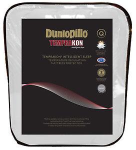 Dunlopillo-Temprakon-Temperature-Regulating-Mattress-Protector-KING-amp-QUEEN-Bed
