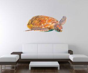 3D Wandtattoo Schildkröte Ozean Wasser Wand Aufkleber Wandbild ...