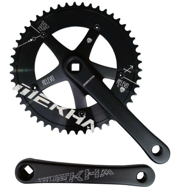 Campagnolo RECORD PISTA TRACK Fixed Gear Fixie Crank Set 165 MM 48T FC01-REPI548