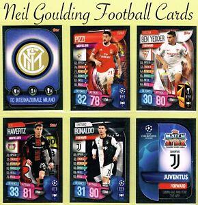 carte de foot 2020 Champions League MATCH ATTAX 2019/2020 ☆ Football Cards ☆ #217