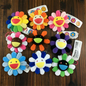 93be8d806 9*9CM Takashi Murakami Flower Rainbow Strap Pin Broach Badge Kaikai ...