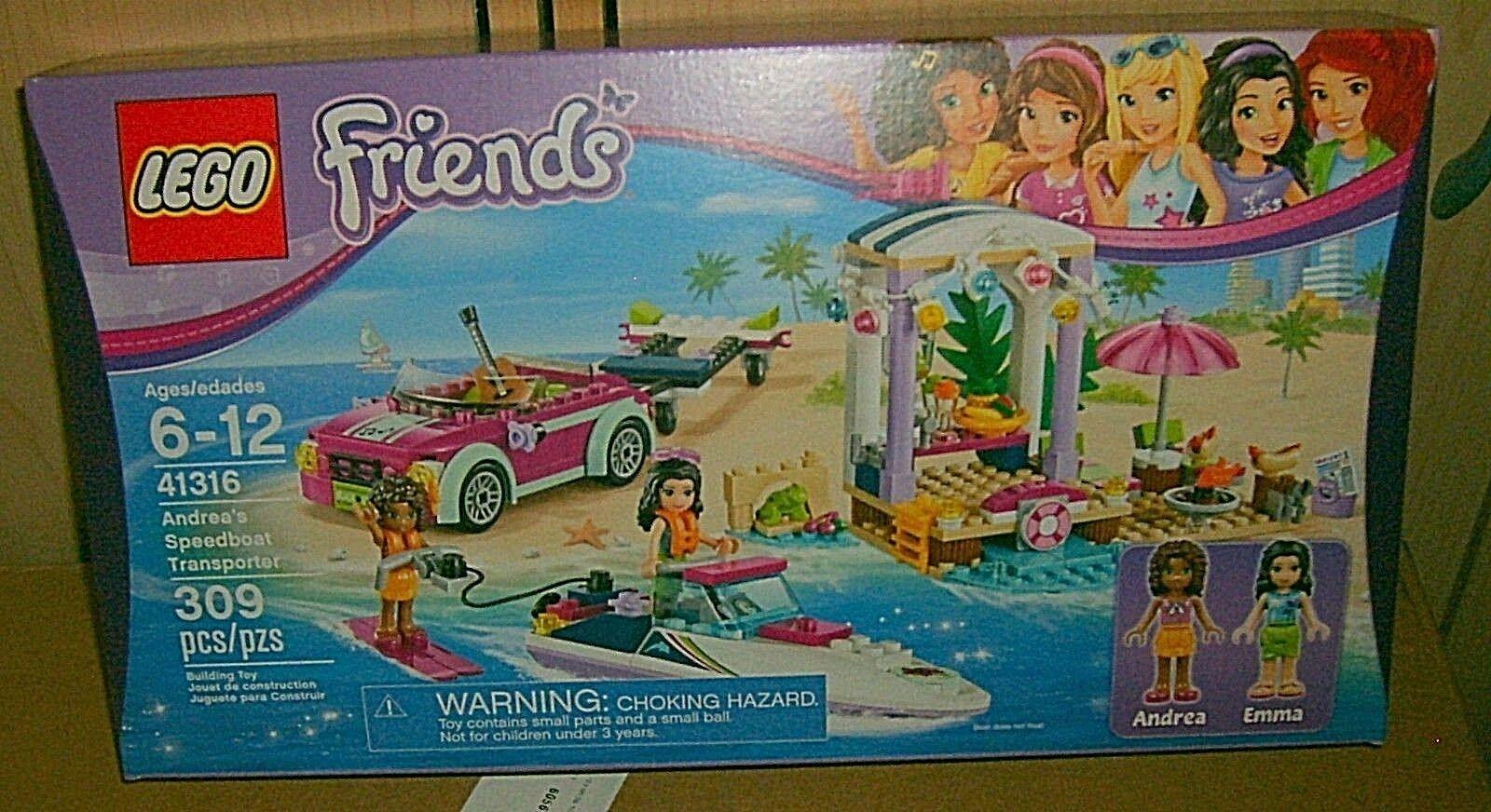 LEGO friends friends friends Andrea's Speeedboat Transporter pcs 454455