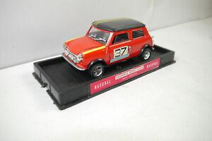 Nacoral 3501/m Morris Mini Cooper 1000 Course Rouge Métal Maquette De Voiture (