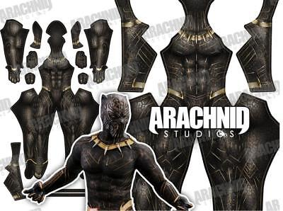 Black Panther 2018 Killmonger Costume No Mask Cosplay Battle Suit Tights Costume Ebay