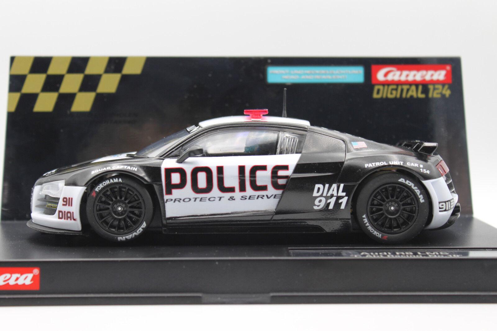 Carrera Digital 124 Audi... My  Police Car   Polizei . Unikat.. Lesen.