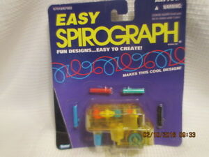 NEW-vintage-Travel-Easy-Spirograph-from-Kenner-Hasbro-SEALED-1995-Fun-Designs
