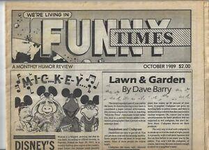 FUNNY-TIMES-OCTOBER-1989-DAVE-BARRY-HUNTER-S-THOMPSON-MATT-GROENING-ZIPPY
