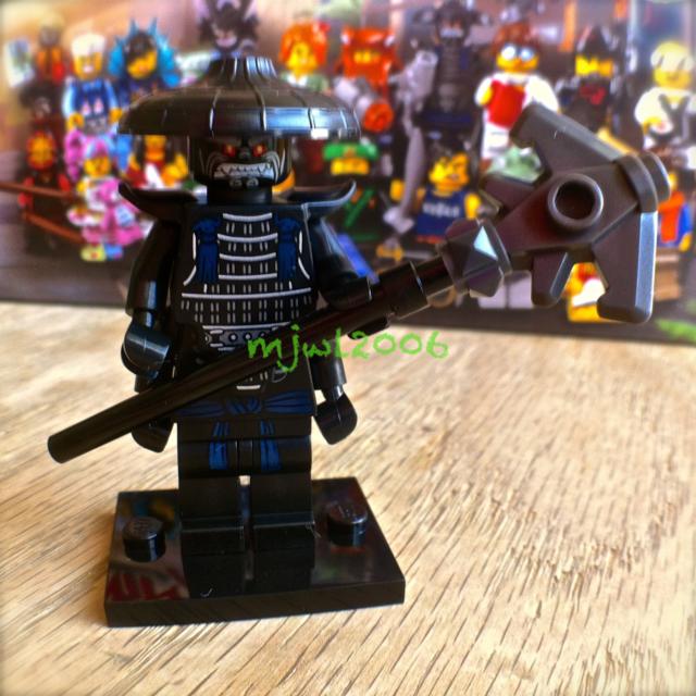 71019 LEGO NINJAGO MOVIE Minifigures Garmadon #5 FACTORY-SEALED ready to fight