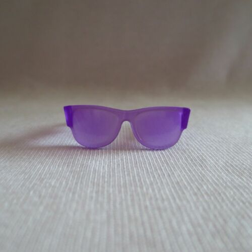 NEW Barbie Evolution Fashionista Petite Doll Purple Sunglasses Glasses Clothing