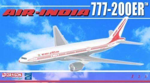 DRAGON 55954 AIR INDIA 777-200ER 1//400 DIECAST MODEL PLANE NEW