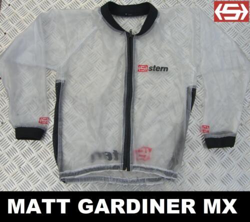 Stern Fango Copertura Trasparente Impermeabile XXL Motocross Bmx MTB