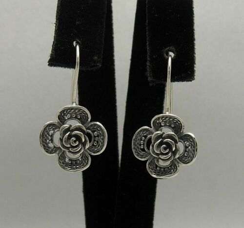 Silber Ohrringe 925 ROSE  E000349