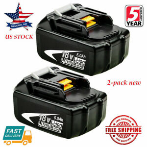 2X-NEW-18V-5-0Ah-LITHIUM-ION-BATTERY-LXT-FOR-MAKITA-BL1860-BL1830-US-LATEST-PACK