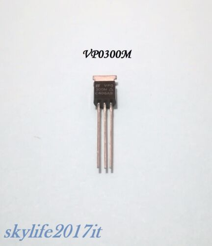 1pz VP0300M Transistor FET P-Channel TO-92-1 pezzo