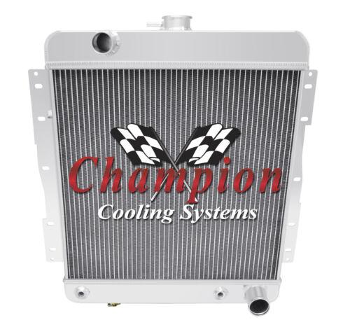 3 Row SZ Champion Radiator for 1958 Chevrolet Biscayne V8 Engine