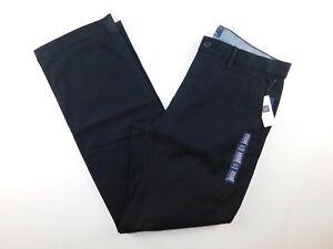 NWT-Gap-Men-039-s-Black-Khaki-Pants-Straight-Leg-38x30-40x32-MSRP-50-New-Free-Ship