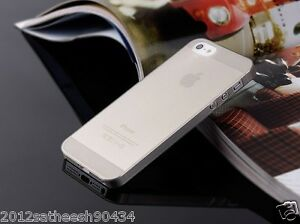0-29mm-Ultra-thin-matte-Case-cover-for-iPhone-5-5S-Translucent-slim-Soft-034-Gray-034