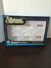 Johnny Cupcakes Enamel Cupcake And Crossbones Earrings NIB, Girls, Woman's, Rare