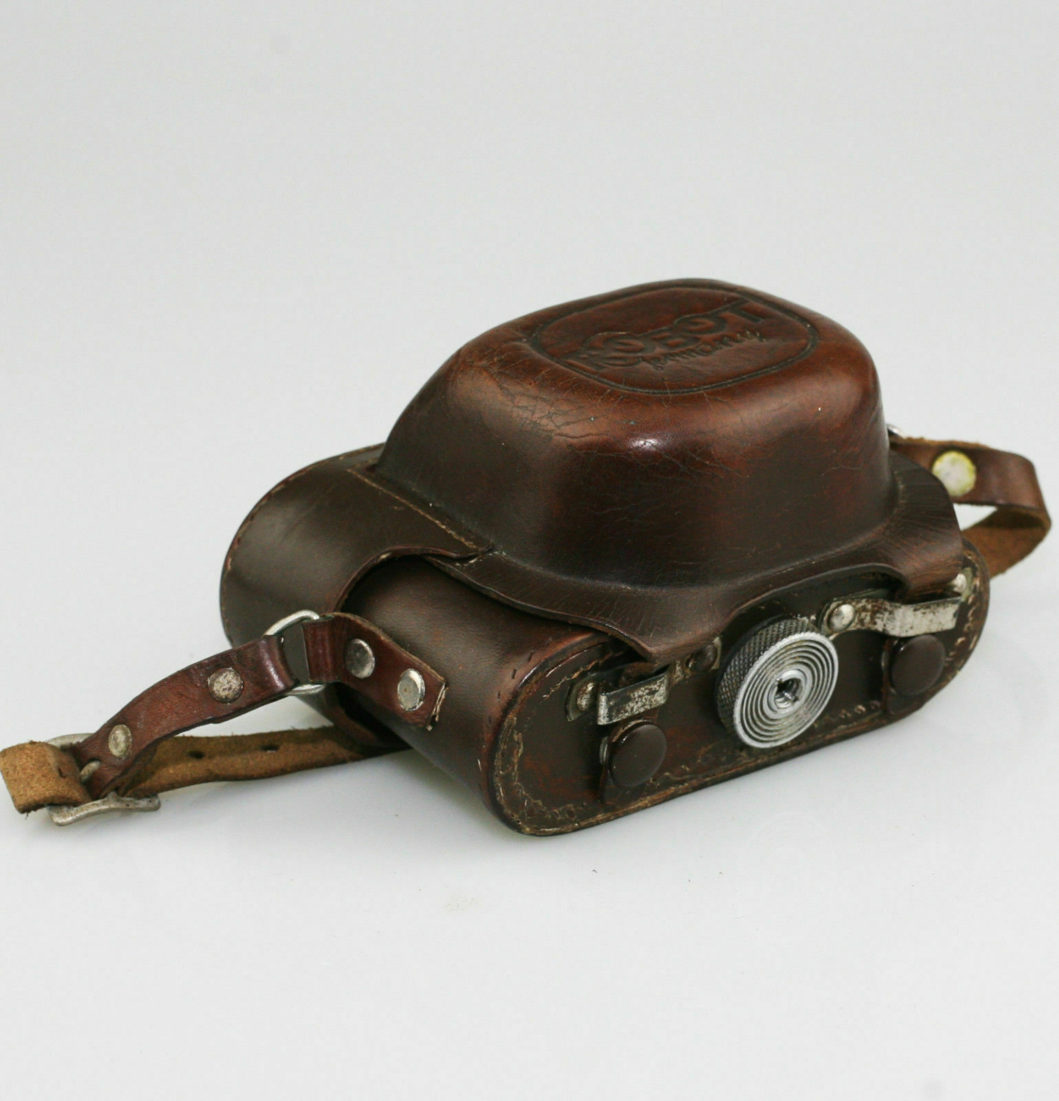 ORIGINAL Berning ROBOT Ever Ready Camera Case in Brown (WZ111)