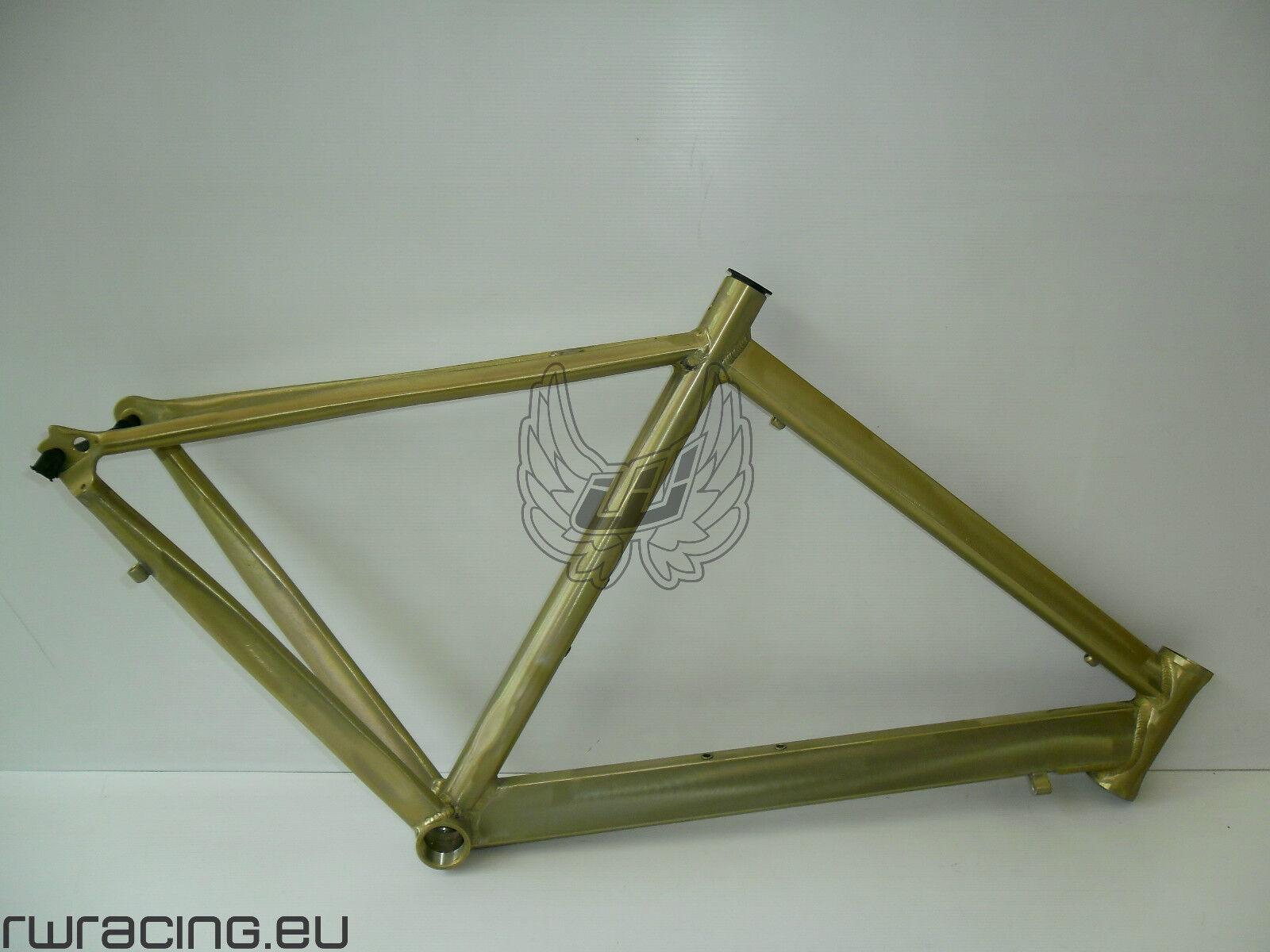Telaio bici strada   corsa grezzo in alluminio. Road frame