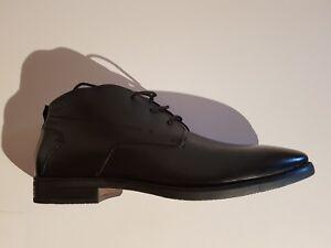 d8ea5de5a05680 Bugatti 311-16730-1000 Herren Leder Boots Stiefeletten schwarz Größe ...