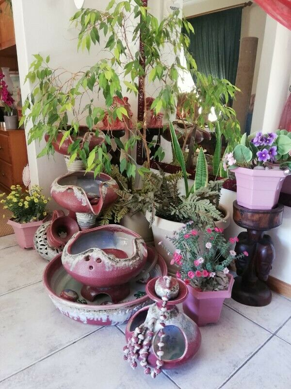 Water fountain pottery for sale