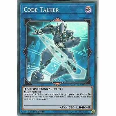 Trading Card Game FIGA-EN043 Code Talker1st EditionSuper RareYu-Gi-Oh