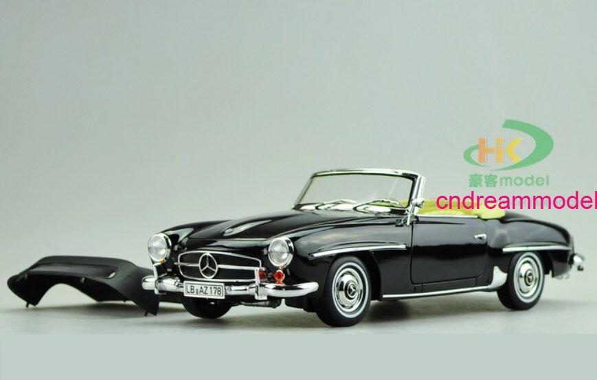 1 18 NOREV Mercedes -Benz 190SL 1957 Kongrönible Die Cast modelllllerler
