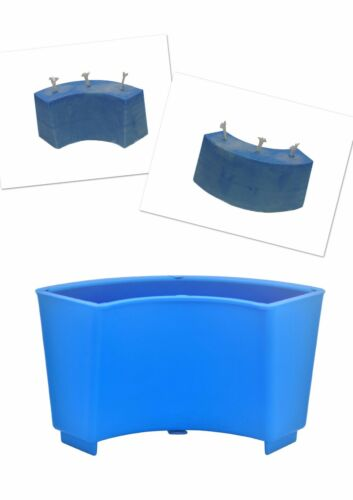 S7675 1 x Arc Semi Curved Wave Shaped Candle Making Mould Mold UK Made